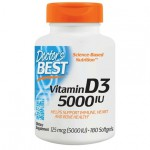 Doctor's Best Vitamin D3 5000 IU 180 softgels