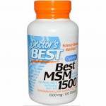 Doctor's Best MSM 1500mg 120 tabl.