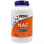Now Foods NAC 600mg 250 vcaps.