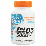 Doctor's Best Vitamin D3 5000 IU 360 softgels