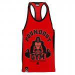 Poundout Tank Top Stringer GYM Kong