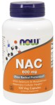 Now Foods NAC 600mg 100 vcaps.