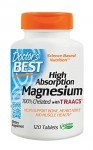 Doctor's Best High Absorption Magnesium 120 tabl.